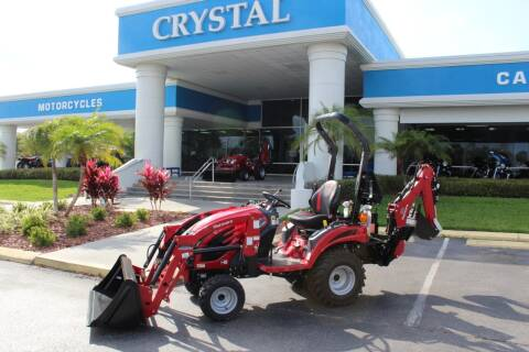 2020 MAHINDRA EMAX 20S LOADER & BACKHOE for sale at Crystal Tractor in Chiefland FL