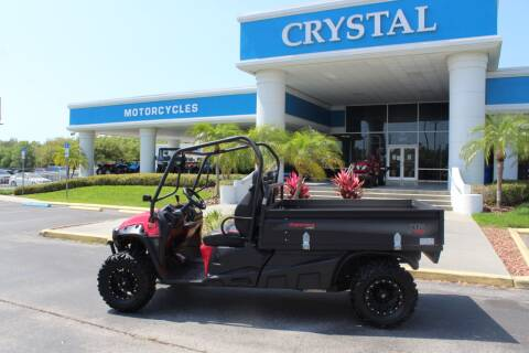 2016 MAHINDRA RETRIEVER LONGBED for sale at Crystal Tractor in Chiefland FL