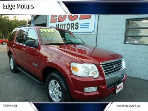 2007 Ford Explorer for sale at Edge Motors in Mooresville NC