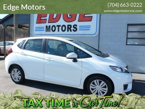 2017 Honda Fit for sale at Edge Motors in Mooresville NC