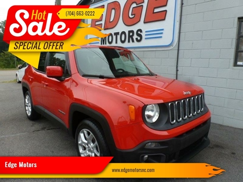 2015 Jeep Renegade for sale at Edge Motors in Mooresville NC
