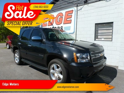 2013 Chevrolet Tahoe for sale at Edge Motors in Mooresville NC