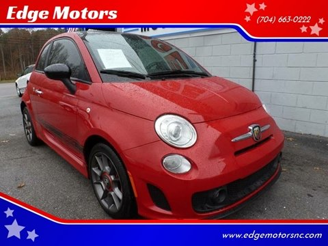 2013 FIAT 500 for sale at Edge Motors in Mooresville NC