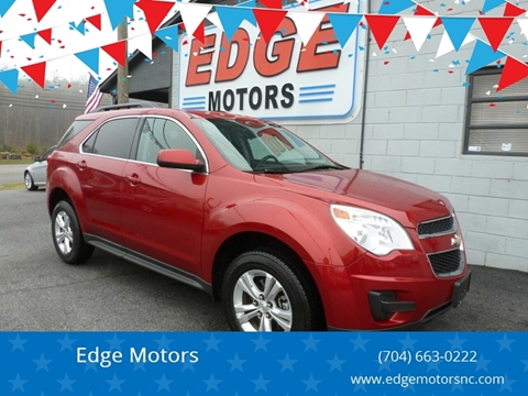 2013 Chevrolet Equinox for sale at Edge Motors in Mooresville NC