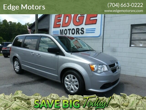 2017 Dodge Grand Caravan for sale at Edge Motors in Mooresville NC