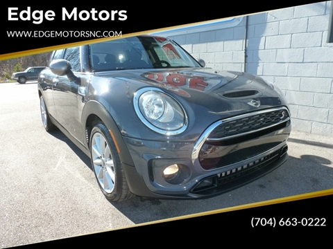 2017 MINI Clubman for sale at Edge Motors in Mooresville NC