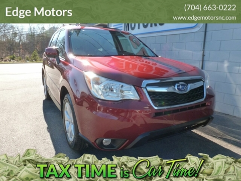 2016 Subaru Forester for sale at Edge Motors in Mooresville NC