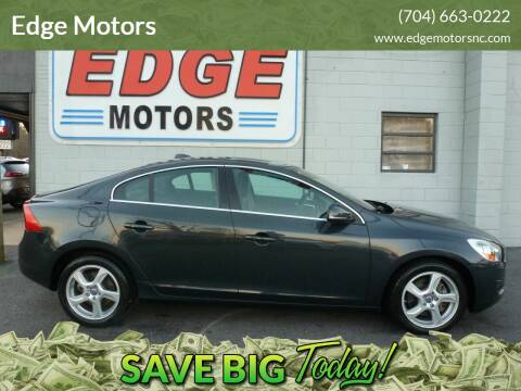 2013 Volvo S60 for sale at Edge Motors in Mooresville NC