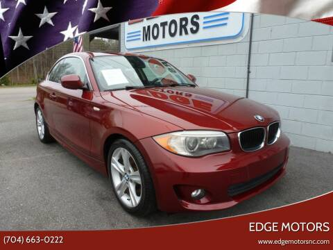 2012 BMW 1 Series for sale at Edge Motors in Mooresville NC