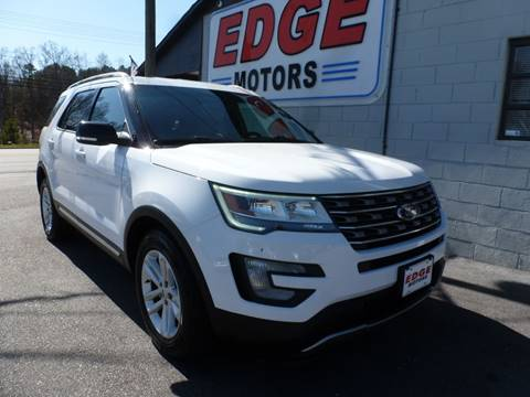 2016 Ford Explorer for sale at Edge Motors in Mooresville NC