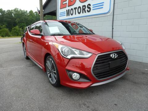 2016 Hyundai Veloster for sale at Edge Motors in Mooresville NC