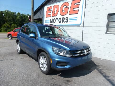 2017 Volkswagen Tiguan for sale at Edge Motors in Mooresville NC