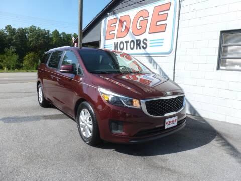 2015 Kia Sedona for sale at Edge Motors in Mooresville NC
