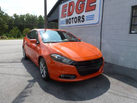 2015 Dodge Dart for sale at Edge Motors in Mooresville NC