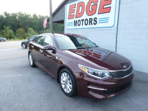 2017 Kia Optima for sale at Edge Motors in Mooresville NC