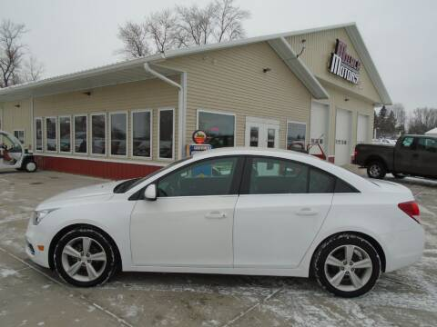 2016 Chevrolet Cruze Limited for sale at Milaca Motors in Milaca MN