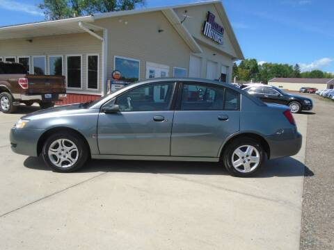 2006 Saturn Ion for sale at Milaca Motors in Milaca MN