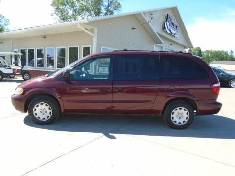2003 Chrysler Town and Country for sale at Milaca Motors in Milaca MN