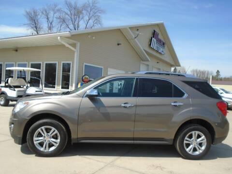 2011 Chevrolet Equinox for sale at Milaca Motors in Milaca MN