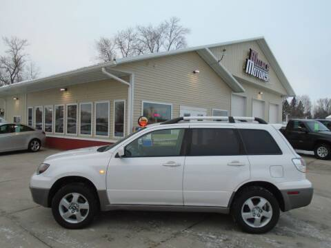 2003 Mitsubishi Outlander for sale at Milaca Motors in Milaca MN