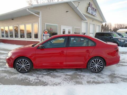 2016 Volkswagen Jetta for sale at Milaca Motors in Milaca MN