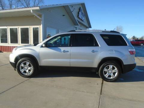 2010 GMC Acadia for sale at Milaca Motors in Milaca MN