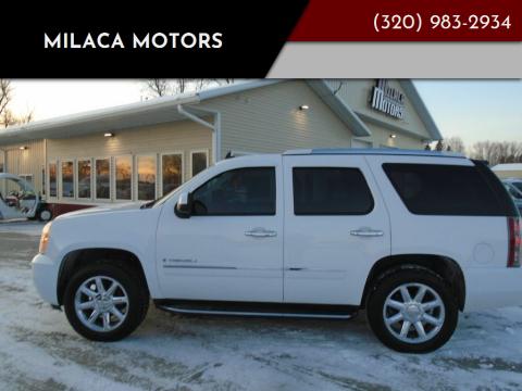 2009 GMC Yukon for sale at Milaca Motors in Milaca MN