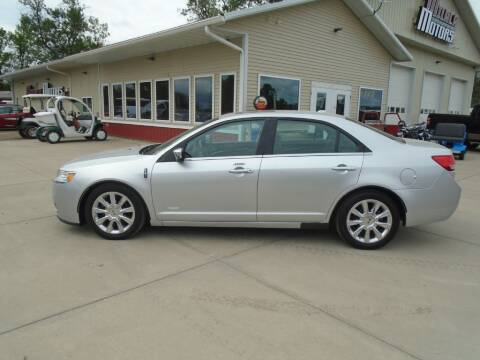 2011 Lincoln MKZ Hybrid for sale at Milaca Motors in Milaca MN