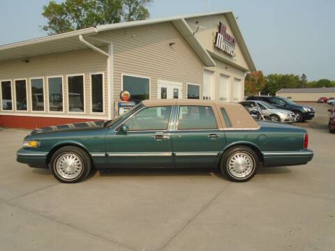 1996 Lincoln Town Car for sale at Milaca Motors in Milaca MN