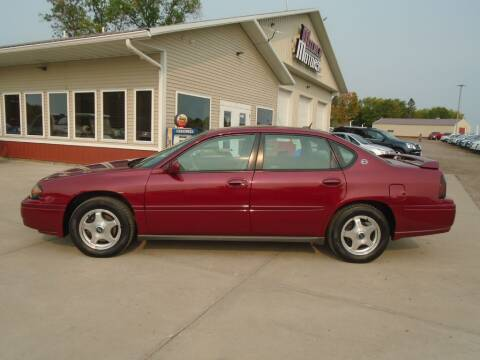 2005 Chevrolet Impala for sale at Milaca Motors in Milaca MN