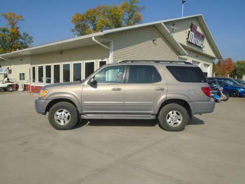 2001 Toyota Sequoia for sale at Milaca Motors in Milaca MN