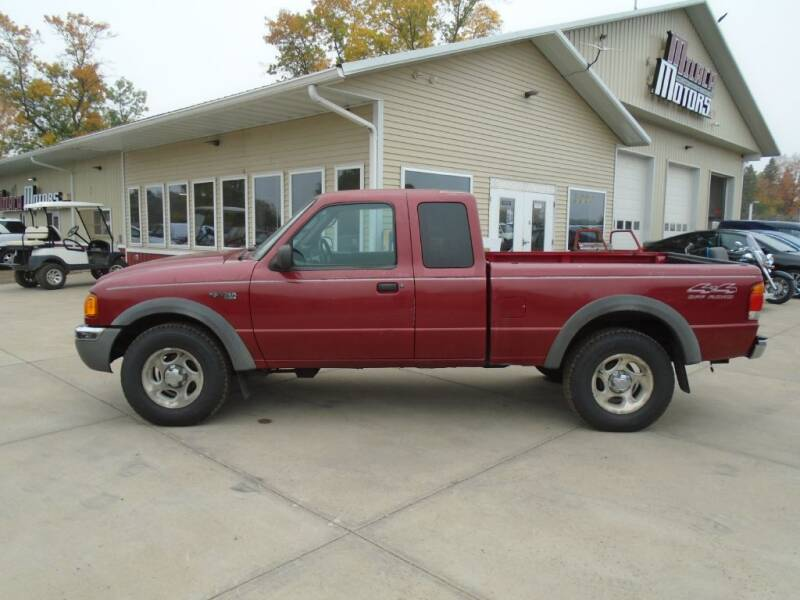 2003 Ford Ranger for sale at Milaca Motors in Milaca MN