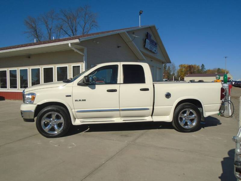 2008 Dodge Ram Pickup 1500 for sale at Milaca Motors in Milaca MN