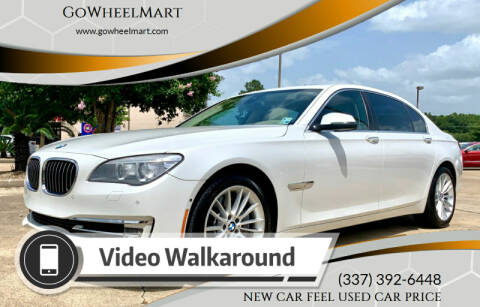 2014 BMW 7 Series for sale at GOWHEELMART in Available In LA