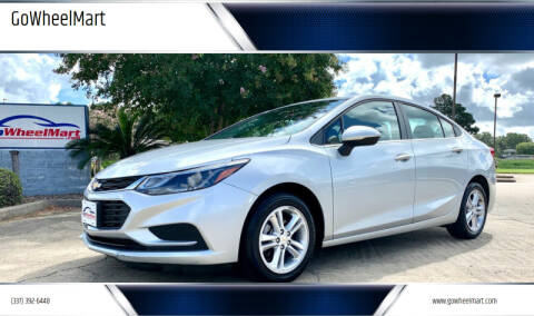 2018 Chevrolet Cruze for sale at GOWHEELMART in Available In LA