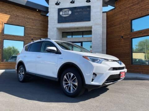 2017 Toyota RAV4 Hybrid for sale at Hamilton Motors in Lehi UT