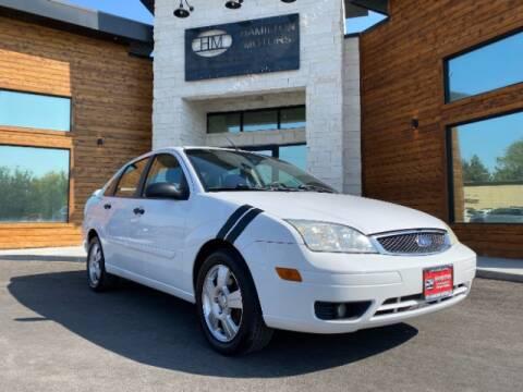2007 Ford Focus for sale at Hamilton Motors in Lehi UT