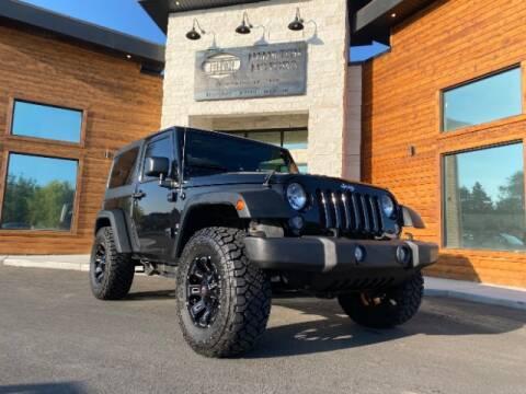 2015 Jeep Wrangler for sale at Hamilton Motors in Lehi UT