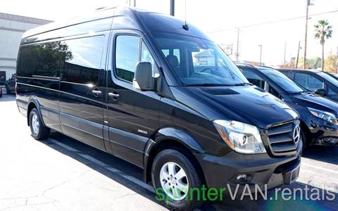 2016 Mercedes-Benz Sprinter Passenger for sale at Luxe RV Center in Los Angeles CA