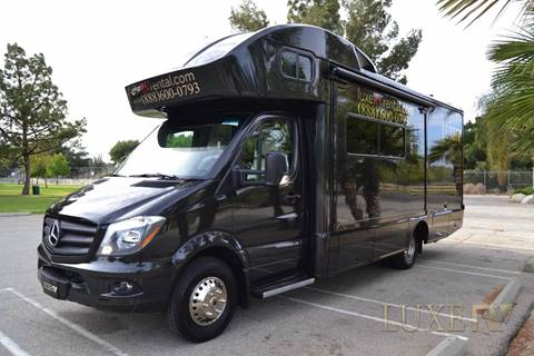 2018 Mercedez-Benz Winnebago View 24J for sale at Luxe RV Center in Los Angeles CA