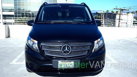 2018 Mercedes-Benz Metris for sale at Luxe RV Center in Los Angeles CA