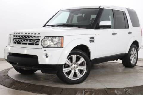 2013 Land Rover LR4 HSE LUX for sale at Lux Motorsports in Somerville NJ