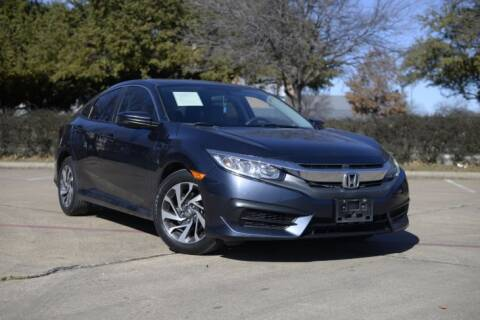 2016 Honda Civic for sale at Legacy Autos in Dallas TX