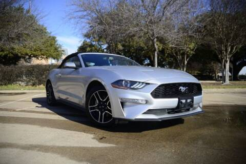 2019 Ford Mustang for sale at Legacy Autos in Dallas TX