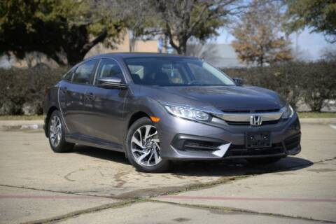 2018 Honda Civic for sale at Legacy Autos in Dallas TX