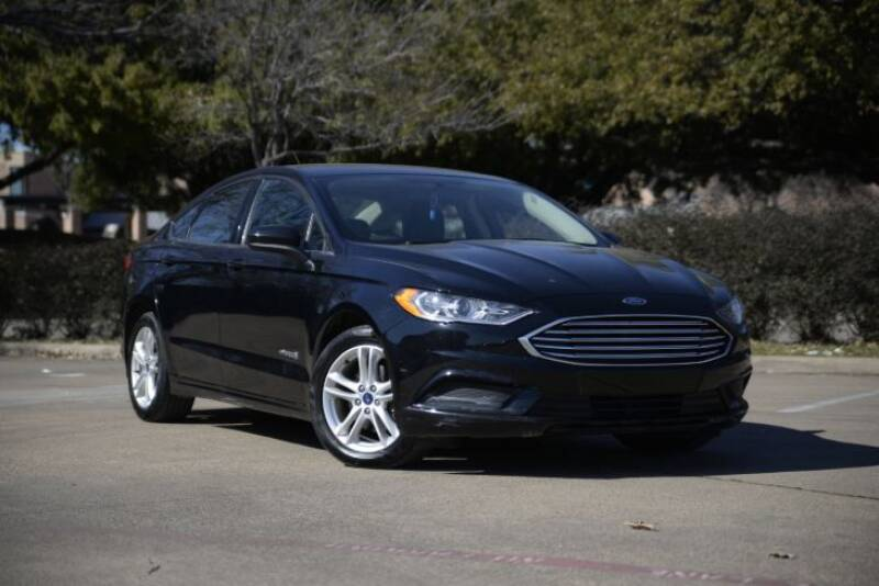 2018 Ford Fusion Hybrid for sale at Legacy Autos in Dallas TX