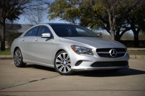 2017 Mercedes-Benz CLA for sale at Legacy Autos in Dallas TX