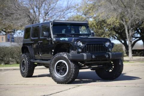 2016 Jeep Wrangler Unlimited for sale at Legacy Autos in Dallas TX