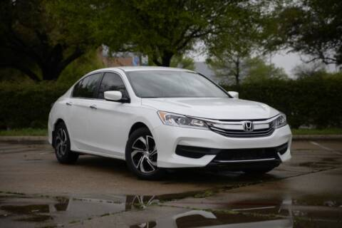 2017 Honda Accord for sale at Legacy Autos in Dallas TX