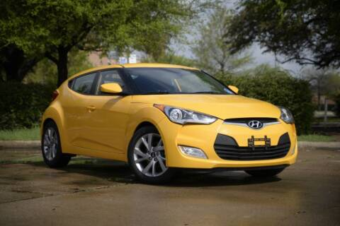 2017 Hyundai Veloster for sale at Legacy Autos in Dallas TX